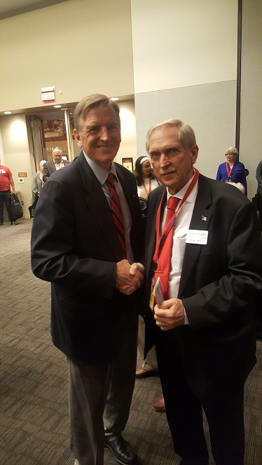Dave Giles with Paul Gosar